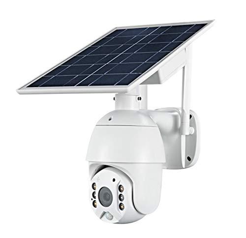 ZJ 1080p HD Panel Solar Solar Vigilancia Al Aire Libre Impermeable 4G WiFi Cámara Inteligente Hogar De Dos Vías Voz Intrusión Alarma Cámara De Seguridad(Color:4G)