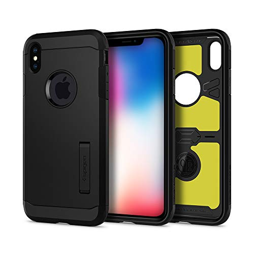 Spigen Funda Tough Armor XP Compatible con iPhone XS MAX - Negro