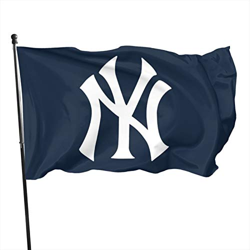 New-York-Yan&Kees Flag 3x5 feet Banner Flags Decorative for OutdoorGarden Flag Polyester Fabric Fade Resistant