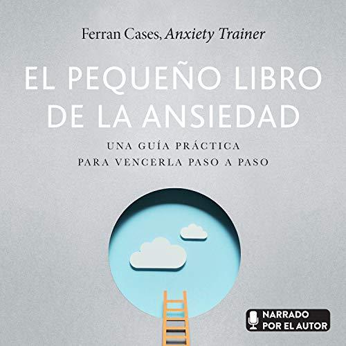 Diseño de la portada del título El pequeño libro de la ansiedad