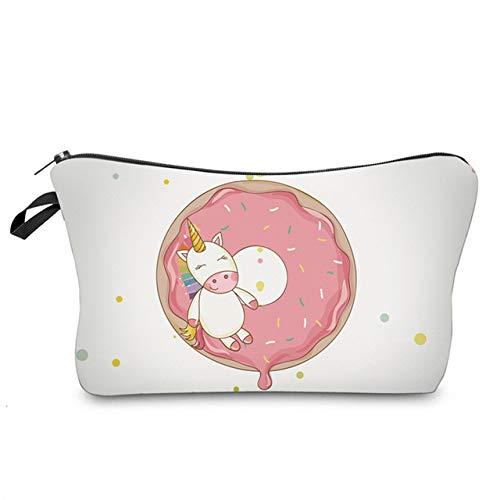 Sloth Cosmetic Bag Waterproof Printing Swanky Turtle Leaf Toilet Bag Custom Style for Travel hzb-91
