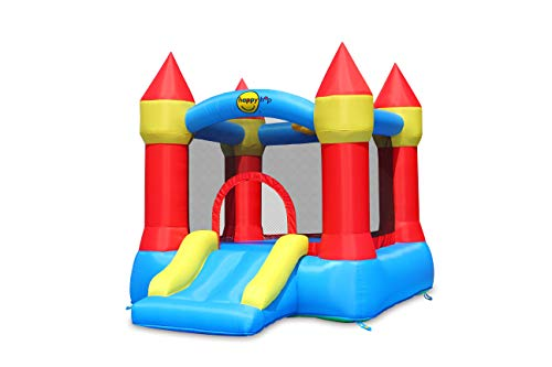 Happy Hop HappyHop 9221. Castillo Hinchable: Bouncer with Slide and Hoop.