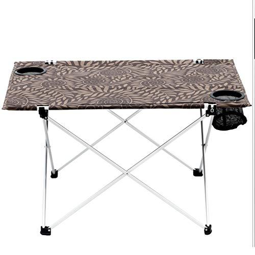 liudan Liudan-Tische Tragbarer Picknicktisch für draußen Oxford Cloth Outdoor Klapptisch Activity Desktop Table