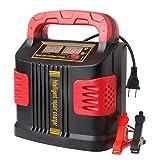 Arrancador De Coches Automoción cargador de batería 14A 350W Ajuste terminales del cargador de batería de 12V-24V del salto del coche del arrancador portátil Arrancador De Baterias