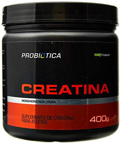 Creatina Creapure Monohidratada Pura, Probiótica, 400 g