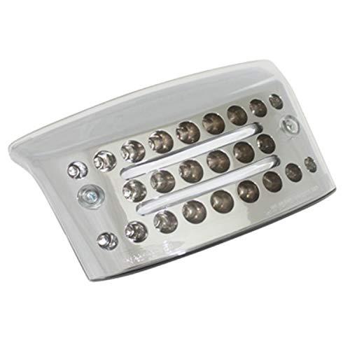 Replay FEU AR Scoot A LEDs ET Fibres OPTIQUES Pour MBK 50 Booster-Yamaha 50 BWS 2004> TRANSPARENTAVEC CLIGNOTANTS -Homologue CE