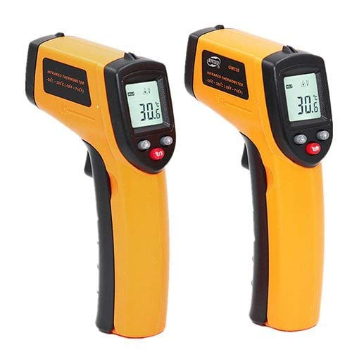 WZhen Thermomètre Électronique Infrarouge De Cuisine - Jaune