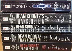 Koontz's 5-book FRANKENSTEIN Series Set -- Prodigal Son/ City of Night / Dead and Alive / Lost Souls / Dead Town