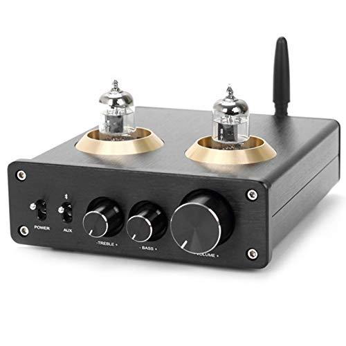 DONGYAO 6J1 tubo de vacío pre-amplificador TPA3116 HiFi amplificador de potencia digital 100W+100W 5.0 APTX amplificador estéreo para el hogar DIY para aspirador