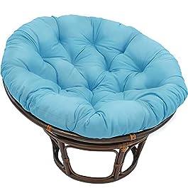 XM&LZ Épaissir Papasan Coussins De Chaise,Fauteuil Inclinable Paresseux Rond Surchargé Coussins D'assise,pour Chaise…