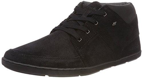 Boxfresh Herren CLUFF Hohe Sneaker, Schwarz (Black Blk), 44 EU