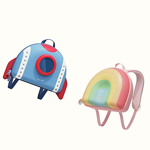 Studentskola väska Space Battleship Creative Cartoon Söt 3-6 årig pojke och flicka lätt ryggsäck, ryggradsskydd för små pojkar och flickor college bag
