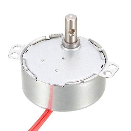 Motor síncrono DyniLao AC 12V 30-36RPM 50-60Hz CCW/CW 4W Caja de engranajes giratoria para horno microondas