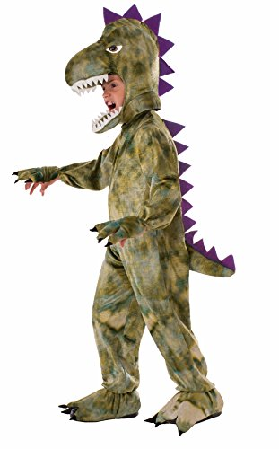 Forum Novelties Kids Dinosaur Costume, Green, Medium