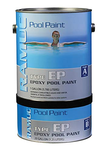 RAMUC EP Epoxy High Gloss Epoxy Pool Paint (Dawn Blue)