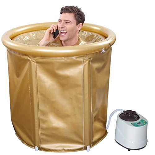 Heimsauna Aufblasbare Sauna: Portables Heim-Dampfbad und Sauna mit Generator (Farbe : 65 * 75CM-A2)