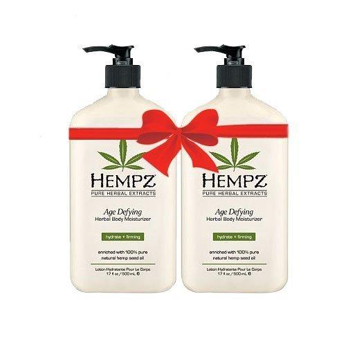 Price comparison product image Hempz Age Defying Herbal Body Moisturizer 17 oz 2-Pack