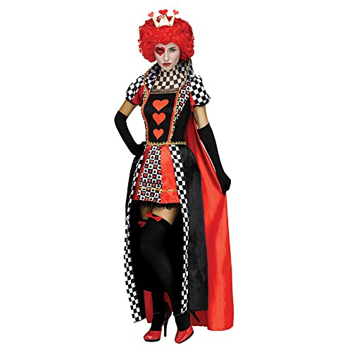 Fun World Women's Queen of Hearts, Multi, M/L Size 10-14