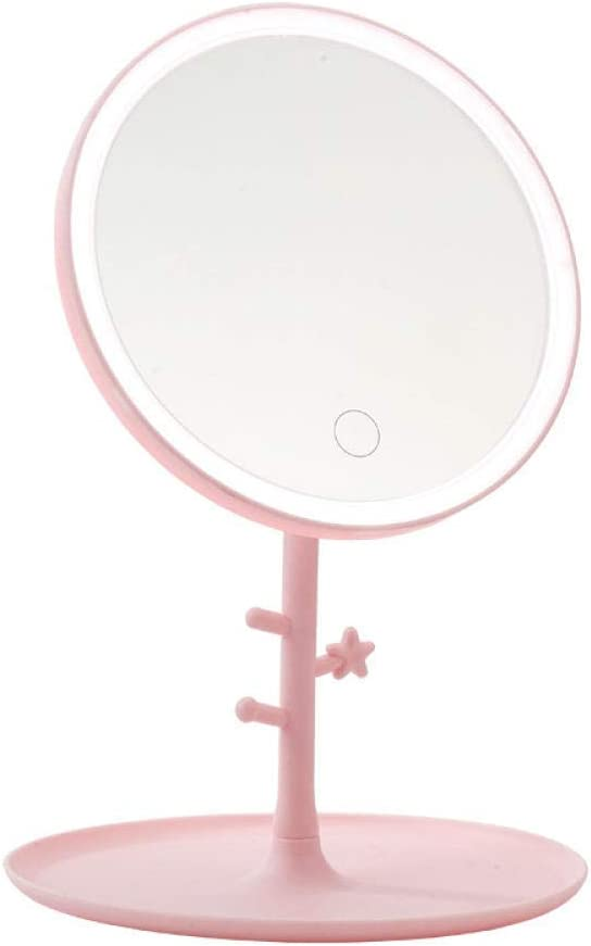 Vanity Mirror Ranking TOP13 2021 new Bathroom Makeup with Table Light Up Led Mir