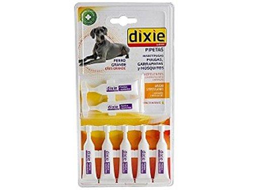 Dixie® - 5000093, Pipetas Insectífugas Perro Grande 7 unid.