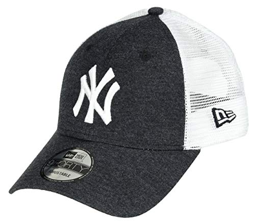 New Era New York Yankees 9forty Adjustable Cap Summer League Black/White - One-Size