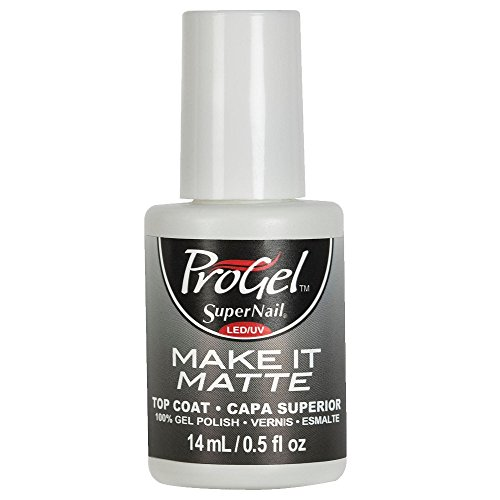 SuperNail ProGel LED/UV Vernis à Ongles - Make It Matte Top Coat - 14ml