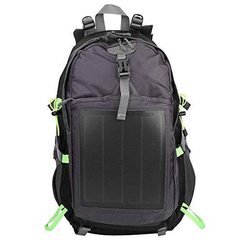 GXP Mochila De Viaje Solar Al Aire Libre De 10.6W, Tableta Portátil Antirrobo, Bolso De Hombro Unisex
