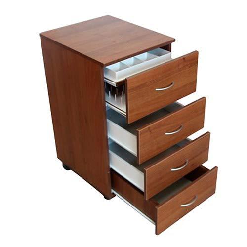 Komfortable Aufbewahrung | Nähzeugschrank, Hobby-/Handwerksschrank, Tisch, mit Garnspulenaufbewahrung 1.1M Brown Cassino Ash
