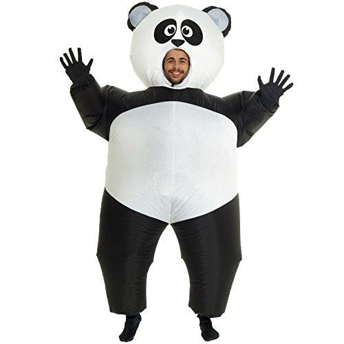Morph MCGIPA Kostüm für Erwachsene, Unisex-Adult, Riesenpanda, One Size