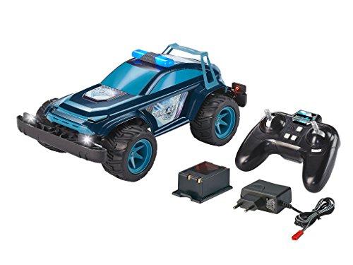 Revell 24809 Control X-treme RC Car Police - schnelles, robustes ferngesteuertes Auto als Polizei SUV mit 2,4 GHz Fernsteuerung inkl. Akku und Ladegerät (kurze Ladezeit - langer Fahrspaß)
