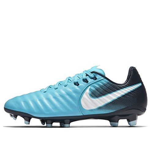 Nike Unisex-Kinder JR Tiempo Legend VII FG Fußballschuhe, Blau (Gamma Blau/Weiß-Obsidian Blau-Gletscher Blau 414), 37.5 EU