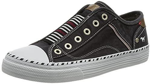 MUSTANG Damen 1376-401-9 Sneaker, schwarz, 40 EU