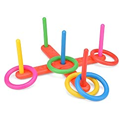 Quoits - a great way to help children learn about taking turns