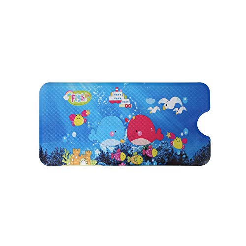 ALL PRIDE Bathtub and Shower Mat, Non Slip, Machine Washable, Perfect Bath Mat for Tub and Shower for Kids