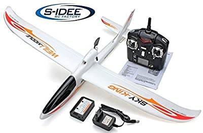 s Idea 01654 Aircraft F959 Sky King Helicopter with 2.4 Ghz Technology with Li-Po Battery