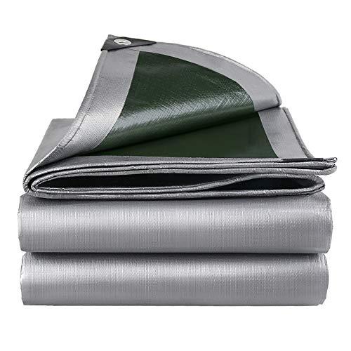 Lonas HUAHUALona Gruesa De PE, Protector Solar Resistente Al Agua Y Tela Impermeable, Toldo De Sombra Calidad para Acampar Al Aire Libre, 160 G / ㎡, 18 Tamaños(Size:Los 4x5m)