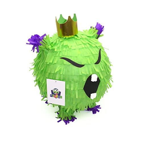 Nislai® Virus Pinata Monster | ideal als Pinata Geburtstag | Scherz Geschenk-Pinata | Halloween und Überraschungs-Party | u. 38x25x25