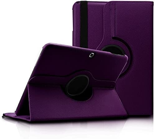 Samsung Tab 4 10 1 Case Flying Horse 360 Degrees Rotating Stand PU Leather Case for Samsung product image