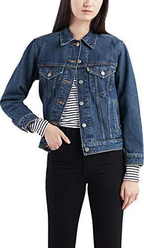 Levi`s dames jeans jas Ex Boyfriend Trucker 29944