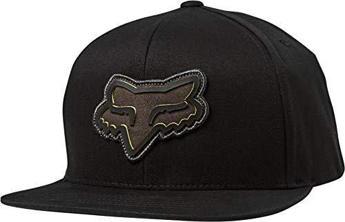Fox Gasket Snapback - Gorra de béisbol, Color Negro