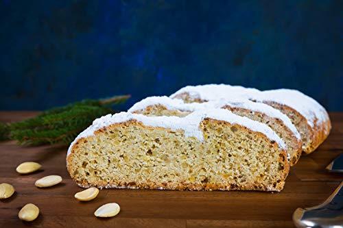 Bäckerei Eckert - Mandelstollen 1kg als 1/2 2kg