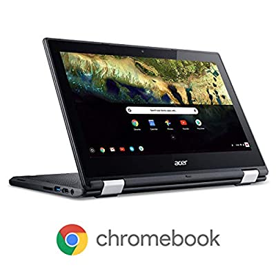 "Acer Chromebook R 11 Convertible Laptop, Celeron N3060, 11.6"" HD Touch, 4GB DDR3L, 32GB eMMC, C738T-C7KD"