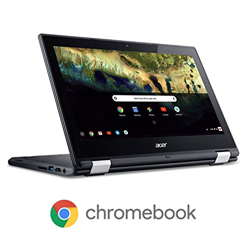 Acer Chromebook R 11 Convertible Laptop, Celeron N3060, 11.6' HD Touch, 4GB DDR3L, 32GB eMMC, C738T-C7KD
