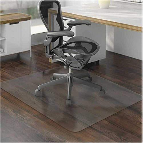 YINN - Alfombrilla antiarañazos para silla de madera para protección de suelos de madera, antideslizante, alfombra de pasillo de rueda, alfombrilla para silla de oficina, libre de BPA, cortable
