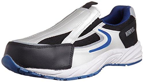 [ミドリ安全] 安全作業靴 JSAA認定 スリッポン プロスニーカー MJ333 メンズ ブルー 27.0(27cm)
