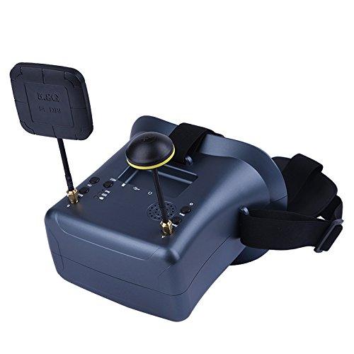 5.8G 40CH 4.3 Pulgadas 2000mA Batería incorporada DVR Diversity FPV Gafas para RC Modelo LS-008D