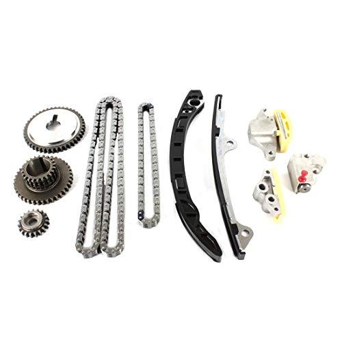 DNJ TK657 Timing Chain Kit/For 2005-2017/ Nissan, Suzuki/Altima, Equator, Frontier, Rogue, Rogue Select, Sentra/ 2.5L/ DOHC/ L4/ 16V/ 2500cc/ QR25DE