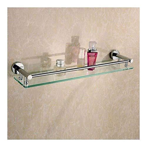 LYMUP Toallero repisa Flotante estantes de Vidrio Ducha baño Templado de la...