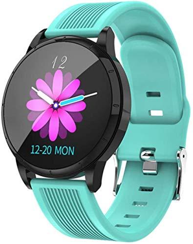 Reloj inteligente para los hombres con mensaje SMS recordatorio reloj despertador inteligente de presión arterial reloj de las mujeres Fitness Tracker-C