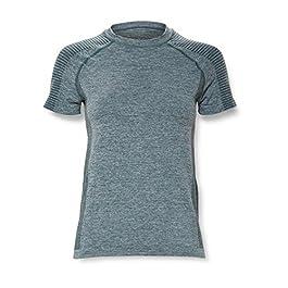 Amazon Brand – AURIQUE Women's Seamless Sports T-Shirt